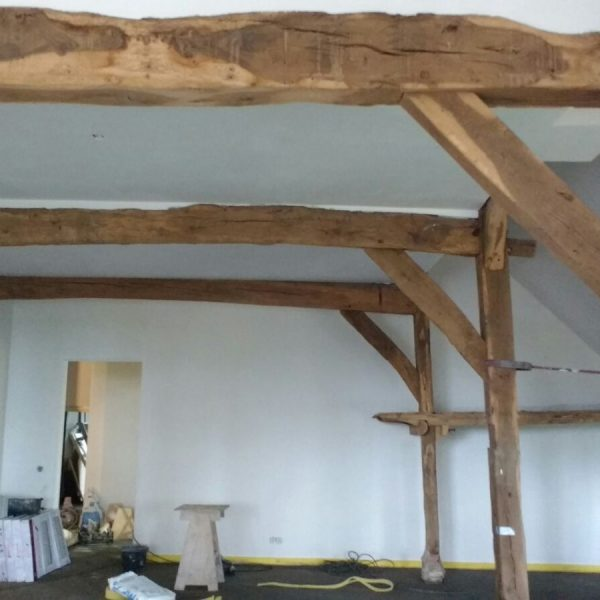 Bestaande houtconstructie