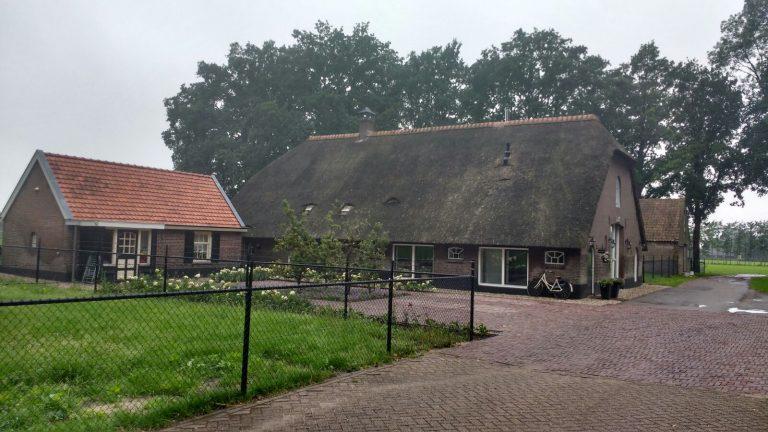 Verbouw historische boerderij in Lunteren (exterieur)