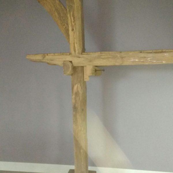 detail van houten constructie
